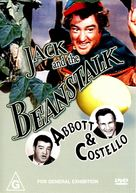 Jack and the Beanstalk - Australian DVD cover (xs thumbnail)