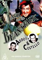 Jack and the Beanstalk - Australian DVD movie cover (xs thumbnail)