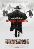 The Hateful Eight - Portuguese Movie Poster (xs thumbnail)