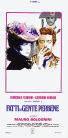 Fatti di gente perbene - Italian Movie Poster (xs thumbnail)
