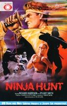 Ninja Hunt - Danish Movie Cover (xs thumbnail)