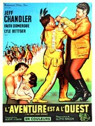 The Great Sioux Uprising - French Movie Poster (xs thumbnail)