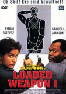 Loaded Weapon - German DVD movie cover (xs thumbnail)