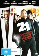 21 - Australian DVD movie cover (xs thumbnail)