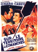 Comanche Territory - French Movie Poster (xs thumbnail)