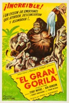 Mighty Joe Young - Argentinian Movie Poster (xs thumbnail)