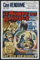 The Animal World - Belgian Movie Poster (xs thumbnail)