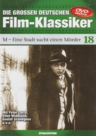 M - German DVD cover (xs thumbnail)