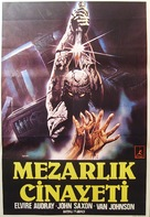 Assassinio al cimitero etrusco - Turkish Movie Poster (xs thumbnail)