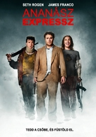 Pineapple Express - Hungarian Movie Poster (xs thumbnail)