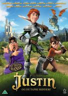 Justin and the Knights of Valour - Danish DVD movie cover (xs thumbnail)