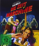 The Time Machine - German Movie Cover (xs thumbnail)