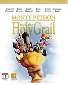 Monty Python and the Holy Grail - Danish Blu-Ray cover (xs thumbnail)