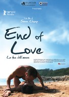 End of Love - Italian Movie Poster (xs thumbnail)