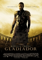 Gladiator - Brazilian Movie Poster (xs thumbnail)