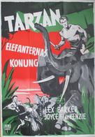 Tarzan and the She-Devil - Swedish Movie Poster (xs thumbnail)
