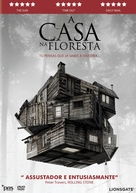 The Cabin in the Woods - Portuguese DVD movie cover (xs thumbnail)