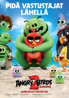 The Angry Birds Movie 2 - Finnish Movie Poster (xs thumbnail)