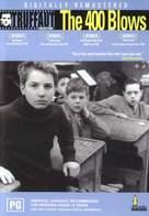 Les quatre cents coups - Australian DVD cover (xs thumbnail)