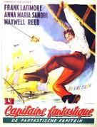 Capitan Fantasma - Belgian Movie Poster (xs thumbnail)