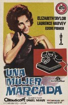 Butterfield 8 - Spanish Movie Poster (xs thumbnail)