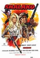 Shalako - Spanish Movie Poster (xs thumbnail)