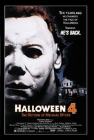 Halloween 4: The Return of Michael Myers - Movie Poster (xs thumbnail)