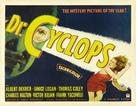 Dr. Cyclops - Theatrical movie poster (xs thumbnail)