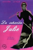 Fröken Julie - Spanish DVD cover (xs thumbnail)