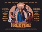 Free Fire - British Movie Poster (xs thumbnail)