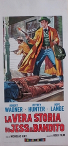 The True Story of Jesse James - Italian Movie Poster (xs thumbnail)
