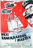 The Wackiest Ship in the Army - Swedish Movie Poster (xs thumbnail)