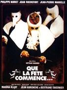 Que la fête commence... - French Movie Poster (xs thumbnail)