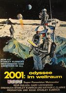2001: A Space Odyssey - German Movie Poster (xs thumbnail)