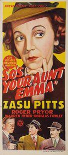 So's Your Aunt Emma! - Australian Movie Poster (xs thumbnail)