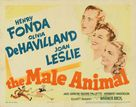 The Male Animal - Movie Poster (xs thumbnail)