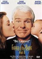 Father of the Bride Part II - DVD cover (xs thumbnail)