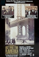 Once Upon a Time in America - Swedish Movie Poster (xs thumbnail)