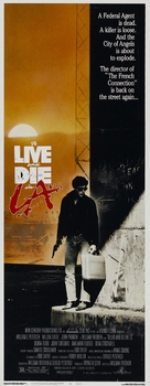 To Live and Die in L.A. - Theatrical movie poster (xs thumbnail)