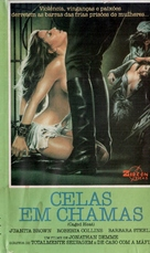 Caged Heat - Brazilian VHS cover (xs thumbnail)