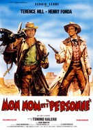 Il Mio Nome E Nessuno - French Movie Poster (xs thumbnail)