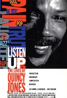 Listen Up: The Lives of Quincy Jones - French Movie Poster (xs thumbnail)