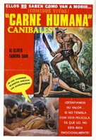 Mondo cannibale - Mexican Movie Poster (xs thumbnail)
