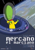 Mercano, el marciano - Argentinian Movie Poster (xs thumbnail)