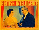 British Intelligence - poster (xs thumbnail)