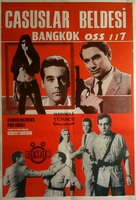 Banco à Bangkok pour OSS 117 - Turkish Movie Poster (xs thumbnail)
