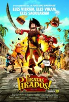 The Pirates! Band of Misfits - Brazilian Movie Poster (xs thumbnail)