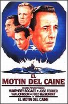 The Caine Mutiny - Spanish Movie Poster (xs thumbnail)