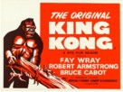 King Kong - British Re-release movie poster (xs thumbnail)