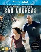 San Andreas - Danish Blu-Ray cover (xs thumbnail)